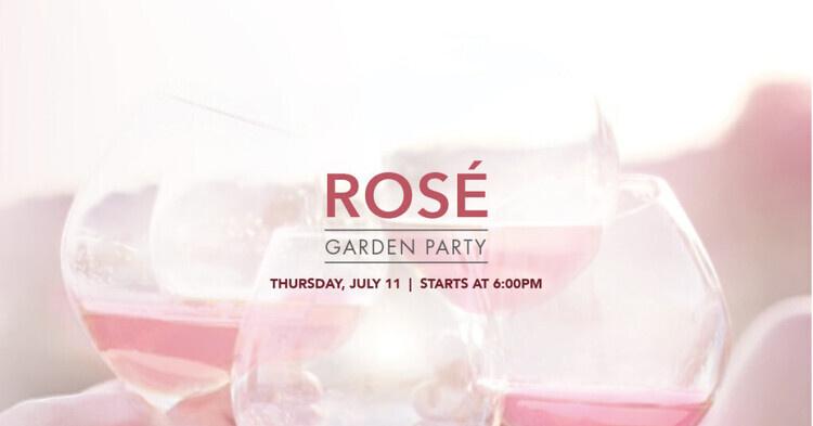 Rosé Garden Party