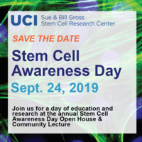 Stem Cell Awareness Day Open House & Community Lecture