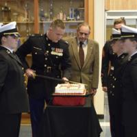 NROTC USMC Cake Cutting Ceremony