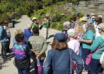 Jul 28, 2019: Garden & Arboretum Hikes at Brian C. Nevin Welcome Center