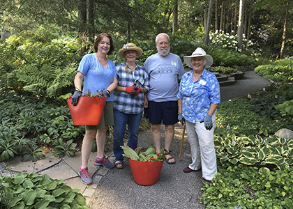 Jul 17, 2019: Volunteer Opportunities with Cornell Botanic Gardens at Cornell Botanic Gardens