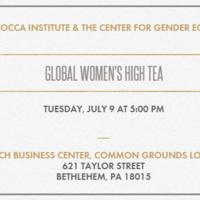 Global Women's High Tea | Center for Gender Equity