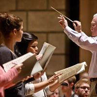Summer@Eastman: Vaughan Williams, Toward the Unknown Region and Brahms, Nänie; Caleb Hopkins, conductor