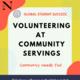 Volunteering at Community Servings