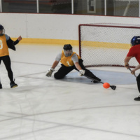 1st Year Student Broomball