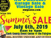 Northwest's Largest Garage Sale & Vintage Sale
