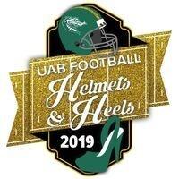 UAB Football Helmets and Heels