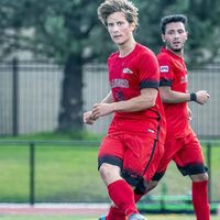 Southern Oregon University Men's Soccer vs Lane C.C. (scrimmage)