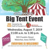 Peoples Clinic Big Tent Event