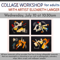 Collage Workshop for Adults