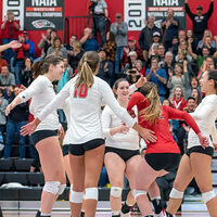 Southern Oregon University Volleyball vs Multnomah