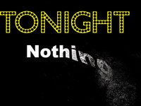 Tonight Nothing