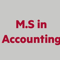 M.S. in Accounting Information Session (Webinar)