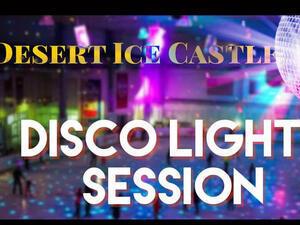 Desert Ice Castle - Disco Lights Session