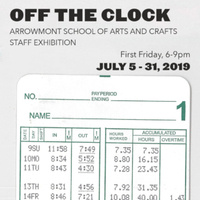 Off the Clock: Arrowmont School of Arts and Crafts Staff Exhibition