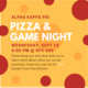 Alpha Kappa Psi Pizza and Game Night