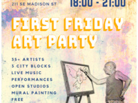 First Friday Summer Art Party