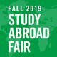 Fall 2019 Study Abroad Fair