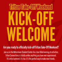Kick-Off Welcome (Triton Take-Off Weekend)