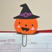 Take & Make: Halloween Paperclip Bookmarks