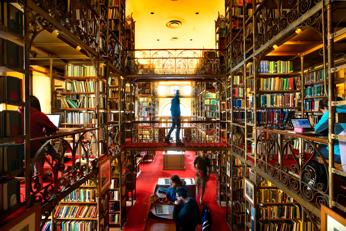 Tours of Olin and Uris Libraries