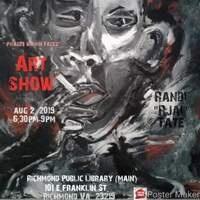 "First Friday's Artshow with Randi ""Rjai"" Tate"
