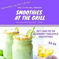 Smoothies at the Grill 7/10/19 | Dining Services