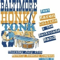 Baltimore Honky Tonk feat. Karen Collins and the Backroads Band