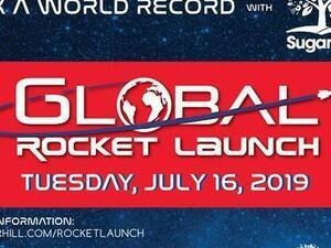 Sugar Hill's Apollo 11 50th Anniversary Community Rocket Launch