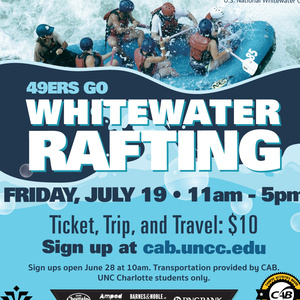 Whitewater Rafting with CAB