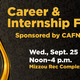 Fall 2019 CAFNR/Arts and Science Career Fair