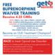 FREE Buprenorphine Waiver Training
