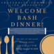 Welcome Bash Dinner
