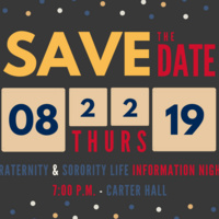 Fraternity and Sorority Life Information Night