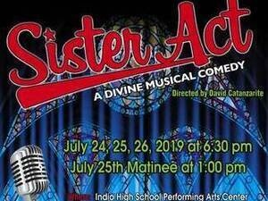 """Green Room Theatre Company Presents """"Sister Act: A Divine Musical Comedy"""""""