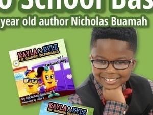 Back-to-School Bash with 8-Year-Old Author Nicholas Buamah