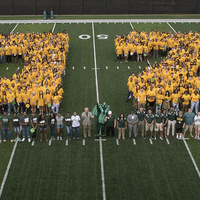 """Annual First-Year Photo: """"Class of 2023"""""""