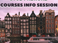 Study Abroad Courses Info Session