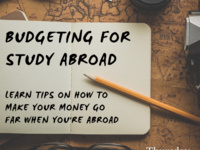Budgeting For Study Abroad