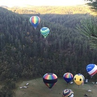 Stratobowl Historic Hot Air Balloon Launch