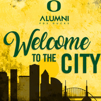 PDX Ducks Welcome to the City