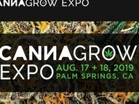 ON Sale NOW - The 9th CannaGrow EXPO. August 17 and  18, 2019 Palm Springs, California - SAVE - USE CV20 at Checkout