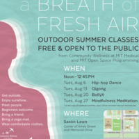 Breath of Fresh Air - Outdoor Summer Classes