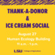Welcome Week: Thank-a-Donor & Ice Cream Social