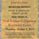 First Annual Indigenous Resilience Event