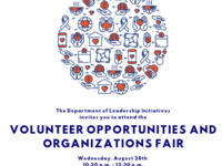 Volunteer Opportunities and Organizations Fair