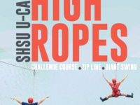 Get Outdoors: High Ropes Course and Zip line