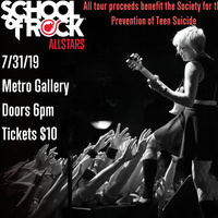 School of Rock AllStars play Metro Gallery