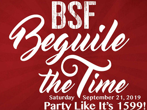 Beguile The Time: Party Like It's 1599!