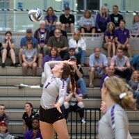Kenyon College Volleyball vs Wittenberg University - Dig Pink